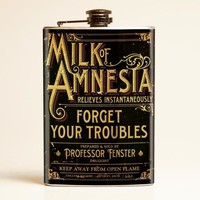 Theatre Bizarre Milk of Amnesia Flask
