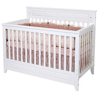 Child Craft Logan 4-in-1 Convertible Crib (White)