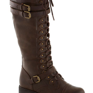 Steampunk Channeling Classic Boot in Molasses