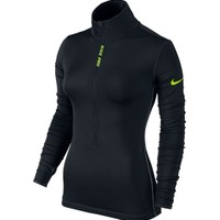 Nike Women's Pro Hyperwarm Half Zip Long Sleeve Shirt | DICK'S Sporting Goods