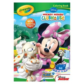 Crayola® Coloring Book - Disney's Mickey Mouse Clubhouse