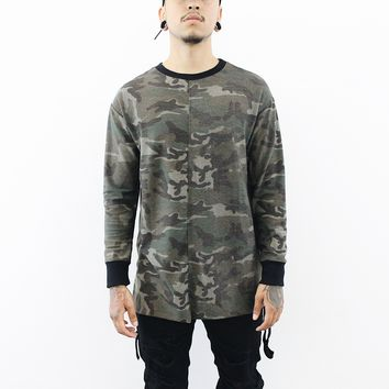 Cheating Death LongSleeve T-Shirt (Camo)
