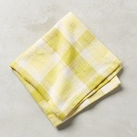 Thea Plaid Napkin by Anthropologie