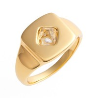 Women's Rachel Zoe 'Prestley' Pinky Ring - Gold/ Crystal
