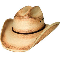 "Bullhide Hats ""Pony Express 15X"" Palm Leaf Straw Childrens Cowboy Hat"