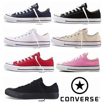 2017 Converse Chuck Tay Lor Shoes For Men Women Brand Casual Low Classic Skateboard Canvas Fashion Running Casual Sneakers 35-44