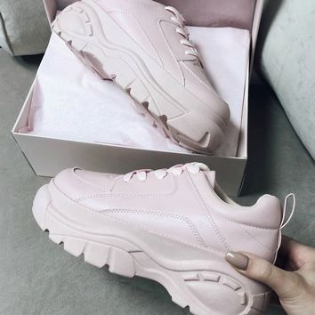 068d82633 Come Thru Light Pink Platform Dad Sneaker