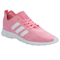 adidas Originals Coral Womens ZX Flux Smooth Trainers