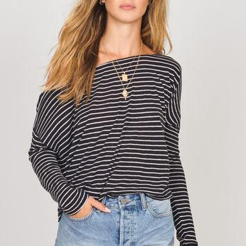AMUSE SOCIETY | On The Verge Knit Top - Black