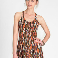 Taos Southwestern Print Dress - $35.00 : ThreadSence, Women's Indie & Bohemian Clothing, Dresses, & Accessories