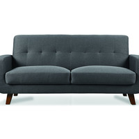 MIDTOWN 3 Seater Sofa - Dark Grey