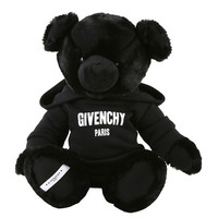 Givenchy Kids' Plush Teddy Bear Stuffed Animal w/ Logo Hoodie