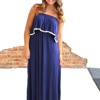 Day To Day Maxi - Navy Blue
