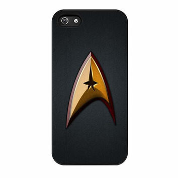 star trek the original series logo cases for iphone se 5 5s 5c 4 4s 6 6s plus