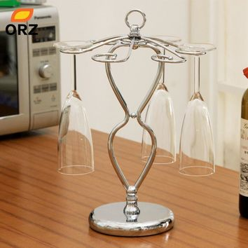 Wine Glass Holder - Champagne Stemware Holder Home Decoration Wine Rack Glass Cup Hanger Wedding Glass Shelf