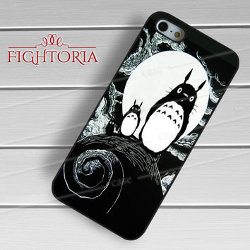 Nightmare before christmas totoro - zzZzz for  iPhone 4/4S/5/5S/5C/6/6+s,Samsung S3/S4/S5/S6 Regular/S6 Edge,Samsung Note 3/4