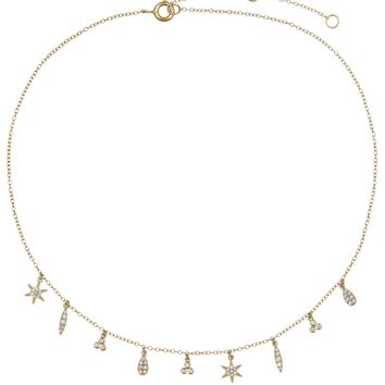 Multi Charms Necklace