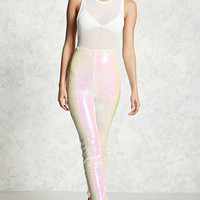 Iridescent Sequin Pants