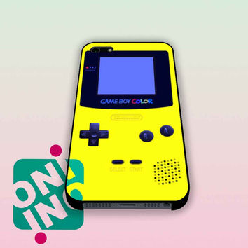 GameBoy Yellow Color iPhone Case Cover | iPhone 4s | iPhone 5s | iPhone 5c | iPhone 6 | iPhone 6 Plus | Samsung Galaxy S3 | Samsung Galaxy S4 | Samsung Galaxy S5