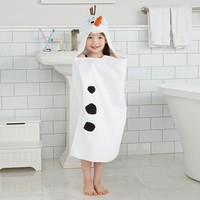 Disney's Frozen Olaf Hooded Bath Wrap by Jumping Beans (White)