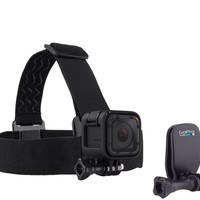 GoPro Head Strap and QuickClip Accessory - E228642 — QVC.com