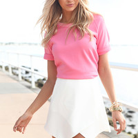 Baseball Top - Pink | SABO SKIRT