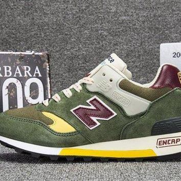 ICIKGQ8 new balance made in england test match pack green mens running shoes