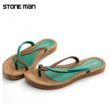 sandalias women shoes flip flops fashion new beach summer shoes flats female woman platform sandals sapato feminino SWXX072