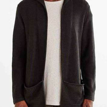 Koto Arkashe Open Front Hooded Cardigan