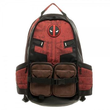 Deadpool Marvel Comics Laptop Backpack Bag