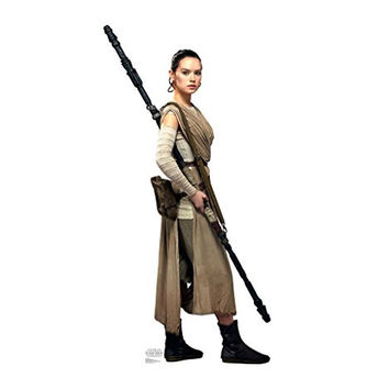 Rey - Star Wars Episode VII: The Force Awakens - Advanced Graphics Life Size Cardboard Standup