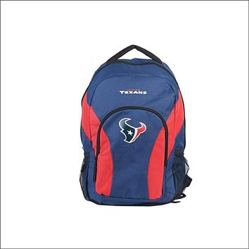 """Texans OFFICIAL National Football League, """"""""Draft Day"""""""" 18""""""""H x 10"""""""" (12"""""""" Back) Backpack  by The Northwest Company"""