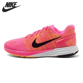 Original New Arrival NIKE WMNS NIKE LUNARGLIDE 7 Women's Running Shoes Sneakers