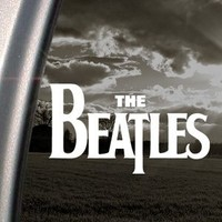 The Beatles Decal Car Truck Bumper Window Sticker