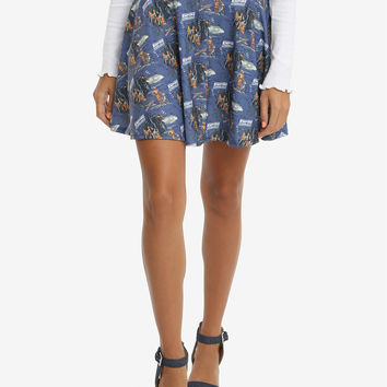 Star Wars The Empire Strikes Back Tie-Back Circle Skirt