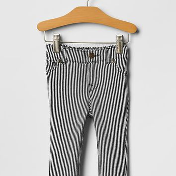 Railroad Stripe Knit Pants