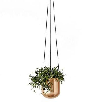 Hanging Planter - Copper