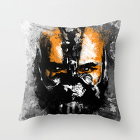 Bane Rhymes with Pain Throw Pillow by zerobriant
