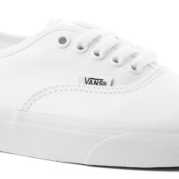 Vans Authentic Skate Shoes - true white - Free Shipping