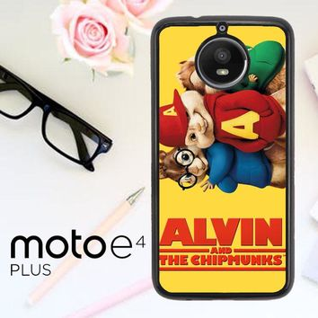 Alvin And The Chipmunks F0267 Motorola Moto E4 Plus Case