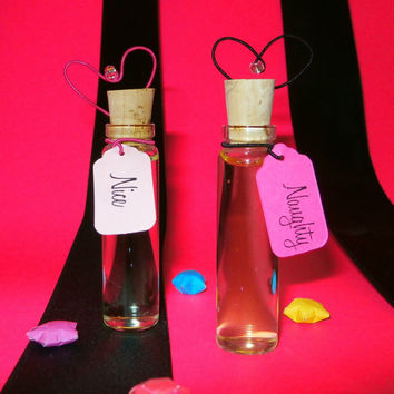 Naughty or Nice Perfume Set, Cherry Perfume, Candy Perfume, Girlie Perfume, Valentine Gift Idea