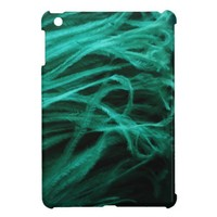 Turquoise Ostrich Feather iPad Mini Case from Zazzle.com