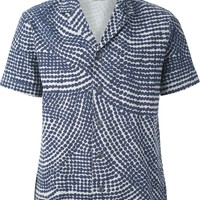 Folk double dot print shirt