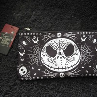 Loungefly Nightmare Before Christmas Jack Skellington Day of the Dead Cosmetic Bag