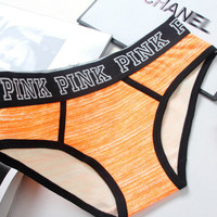 """Pink"" Victoria's Secret Multicolor Cotton Underpant"