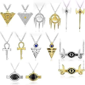 New Millennium Necklace Cosplay Pyramid Egyptian Eye Of Horus Necklace  5.00% Off Auto renew