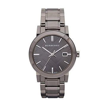 Burberry Men's BU9007 Gunmetal PVD Stainless Steel Watch