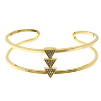 Triangle Studs Bangle Bracelet