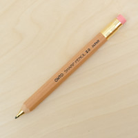 OHTO 2mm Wooden Mechanical Pencil Natural