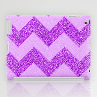 Chevron Fruity iPad Case by Alice Gosling